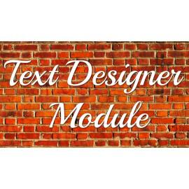Text Designer Demo