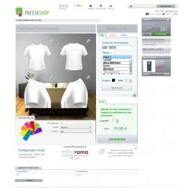 Configurateur visuel Pro Edition