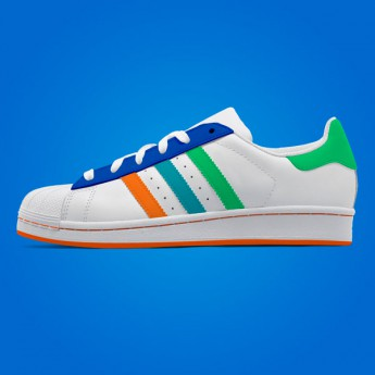 Colorizable sneakers